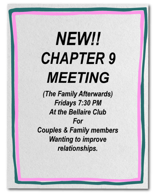 Bellaire Club Chapter Nine Meeting Houston TX
